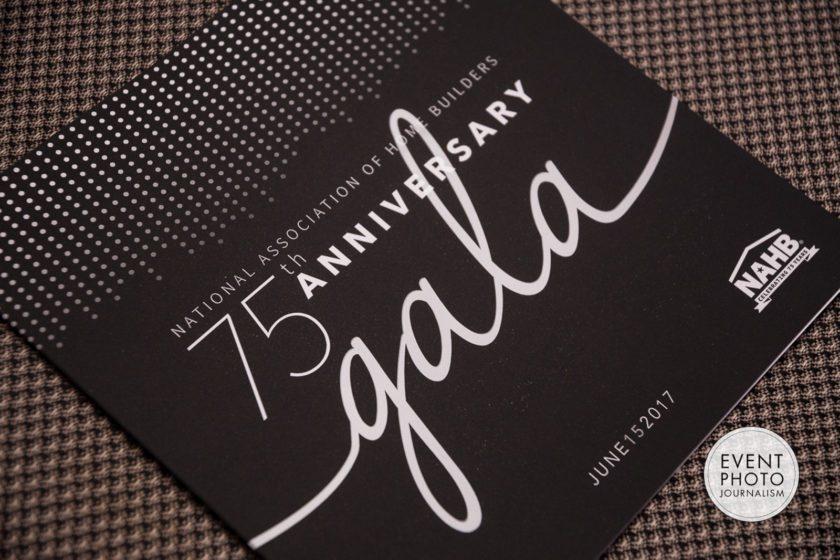 NAHB Calls on Washington DC Gala Event Photographer to Photograph their 75th Anniversary