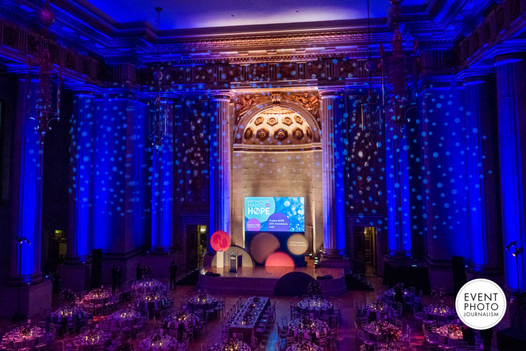 Washington DC Gala Event Photographers at The Andrew W Mellon Auditorium