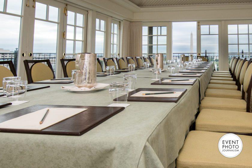 Business Meeting Photography at The Hay-Adams Washington DC