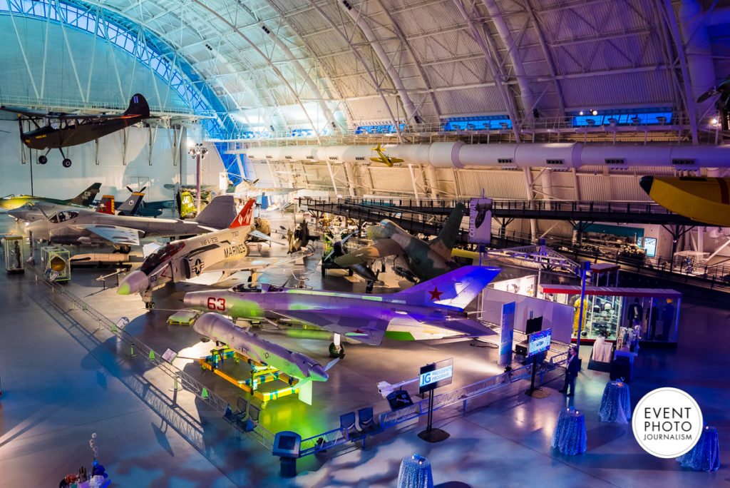 The Steven F. Udvar-Hazy Center National Air Space Museum Event Photographers