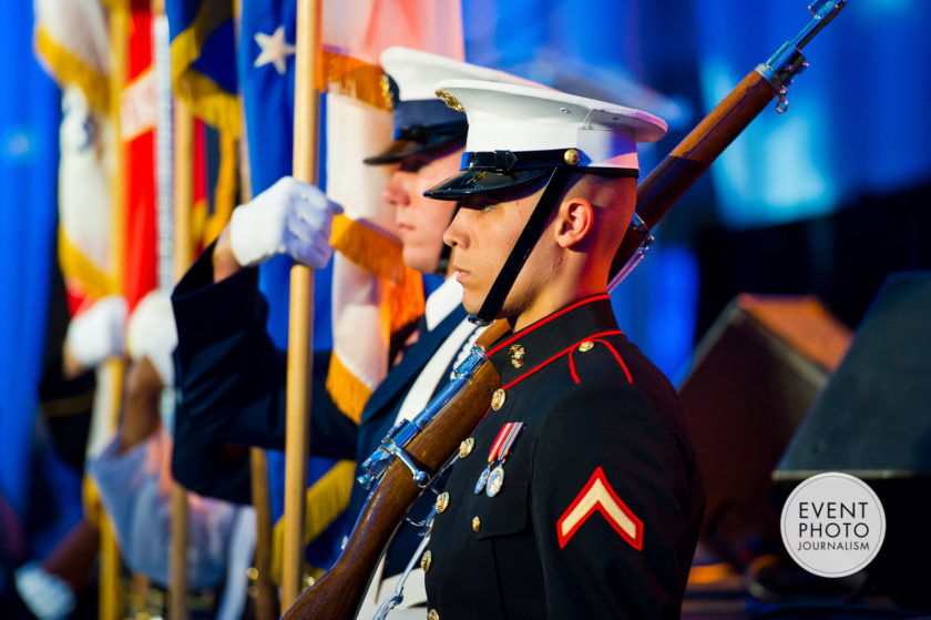 Honoring Our Military | DC Gala Photographers at ITC Ronald Reagan Building